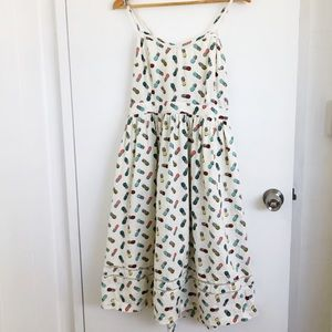 Urban Outfitters Cooperative Pineapple dress Sz 12
